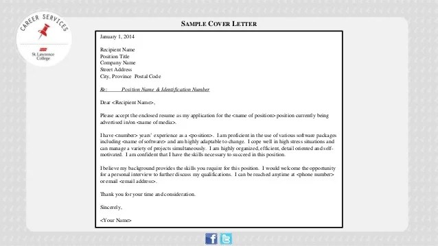 Cover Letter Writing Stand Out from the Crowd