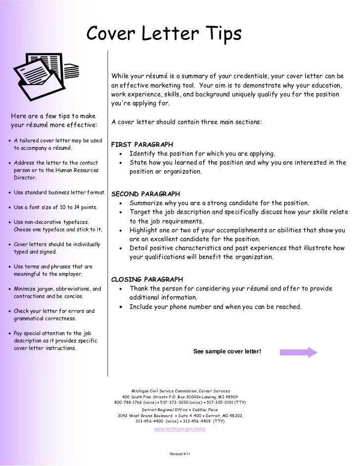 How To Make A Good Cover Letter For Resume