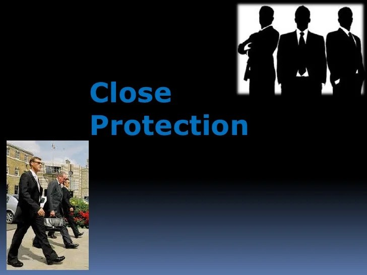 Vip Protection Training Courses