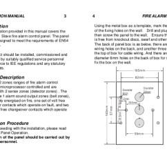 Conventional Fire Alarm Control Panel Wiring Diagram Chevy Silverado Harness Mini 2 Zones