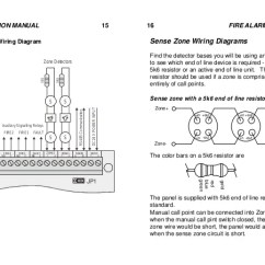 Conventional Fire Alarm Control Panel Wiring Diagram Venn Calculator 2 Sets Mini Zones 8 Instruction Manual 15 Terminal Zone Detectors