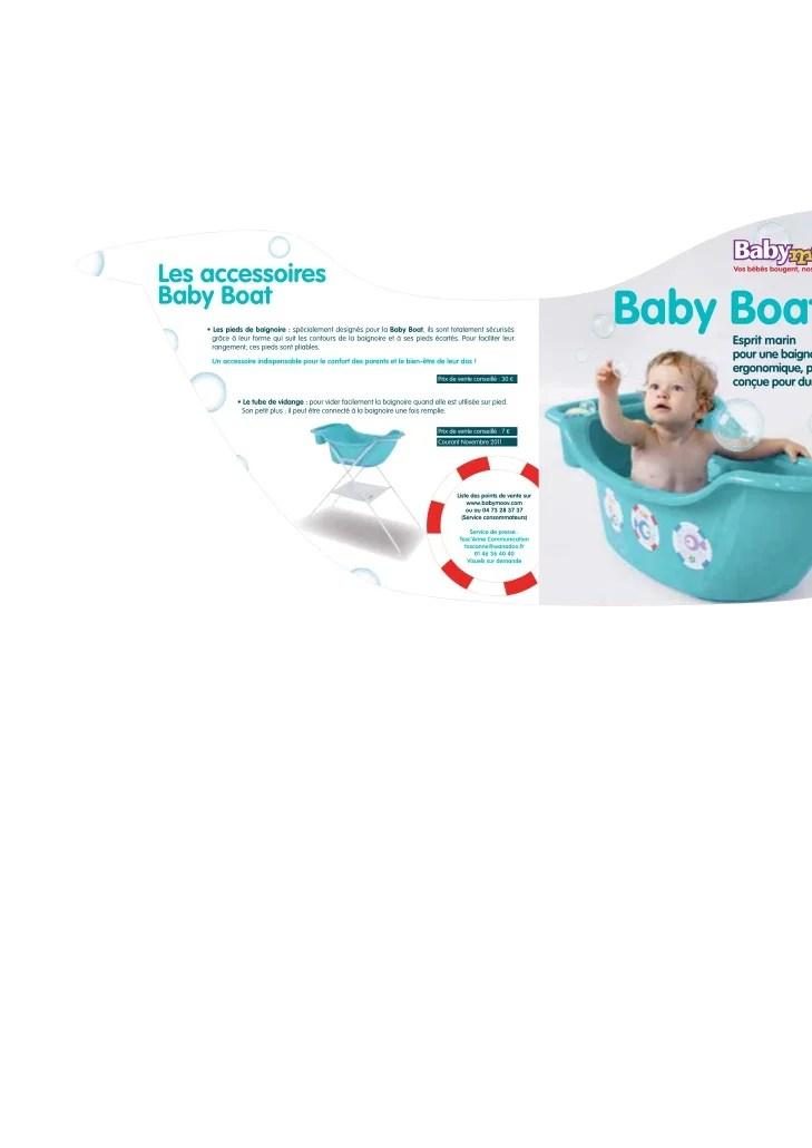 Communiqu De Presse Baby Boat