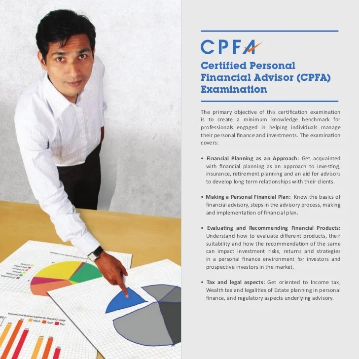 Certified Personal Financial Advisor CPFA Examination