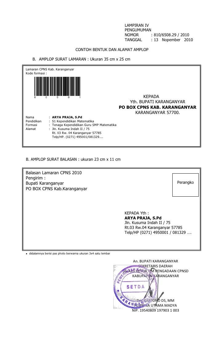 Alamat Di Amplop : alamat, amplop, Penulisan, Amplop, Surat, Lamaran, Contoh, Cute766