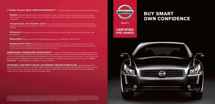 Certified Pre Owned Nissan Nj