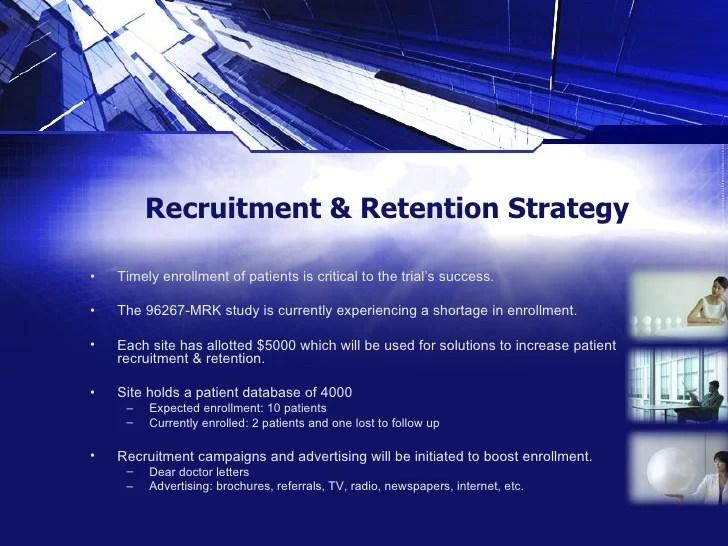 Recruitment & Retention Plan: A Sample Strategy Presentation