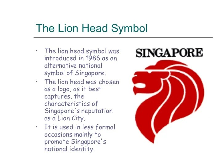 Creating A Singapore Identity