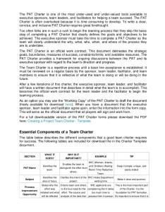 Team charter format also denmarpulsar rh