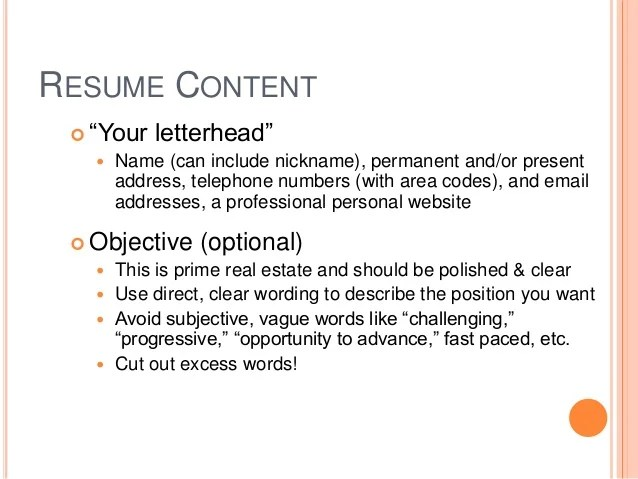 after a long absence resume examples