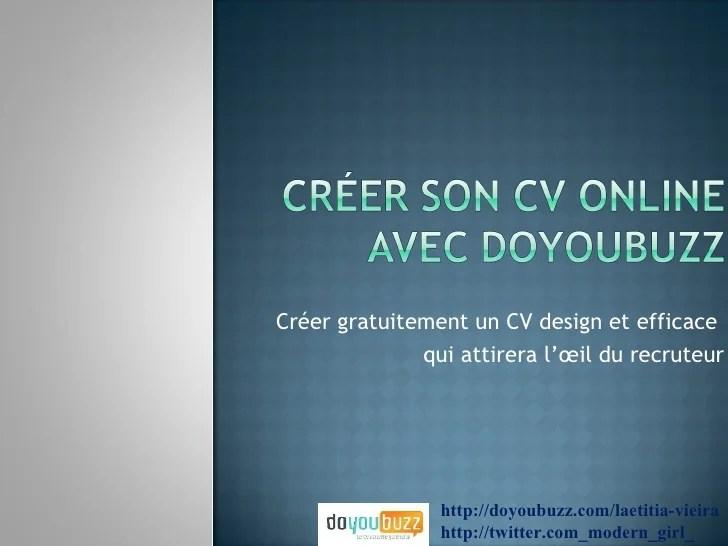 creer cv online