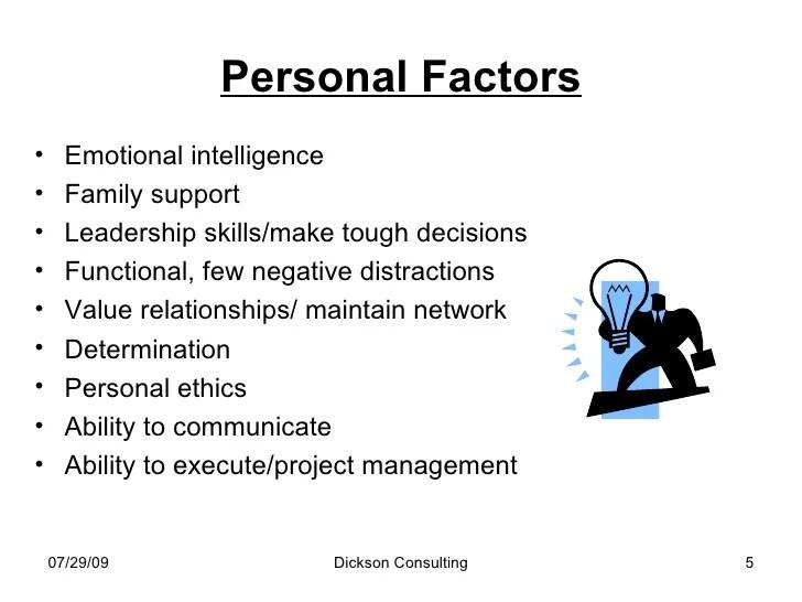 Critical Success Factors For A Medical Device Company
