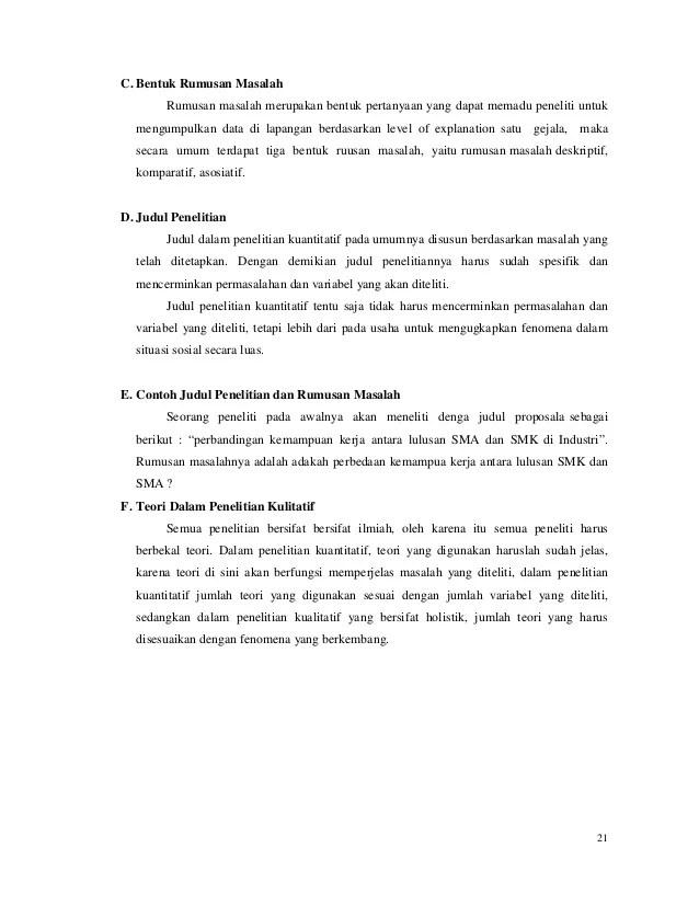 Contoh Judul Dan Rumusan Masalah Penelitian : contoh, judul, rumusan, masalah, penelitian, Contoh, Judul, Penelitian, Kuantitatif, Rumusan, Masalah, Kerkosa