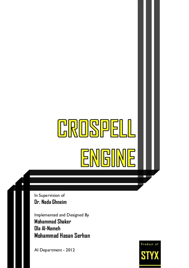 Crospell Engine A Natural Language Processing Approach