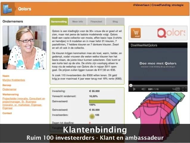 Crowdfunding - meer dan geld alleen - STIMA