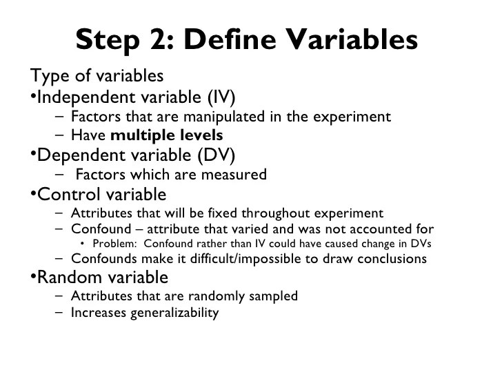 The 5 Step Approach To Controlled Experiment Design For