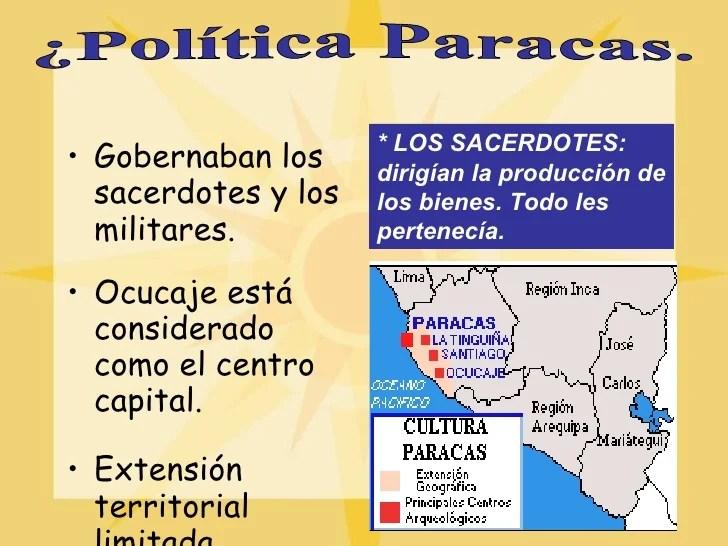organización social y política de la cultura paracas