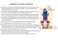 Cupola furnace