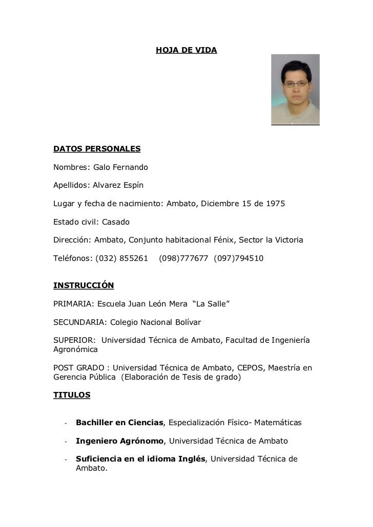 Ejemplo Curriculum Vitae Guatemala Word Sample Cover Letter For