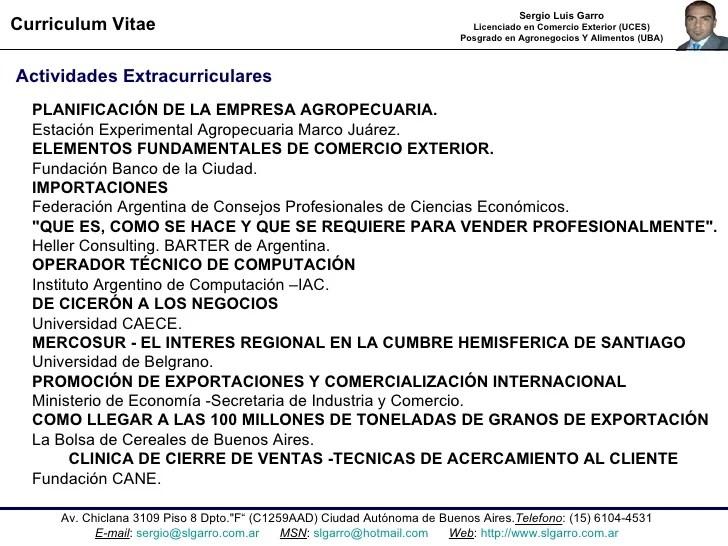afip aduana curriculum vitae