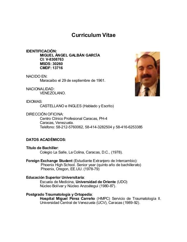 Plantilla De Curriculum Vitae Word Chile Sample Resume Service