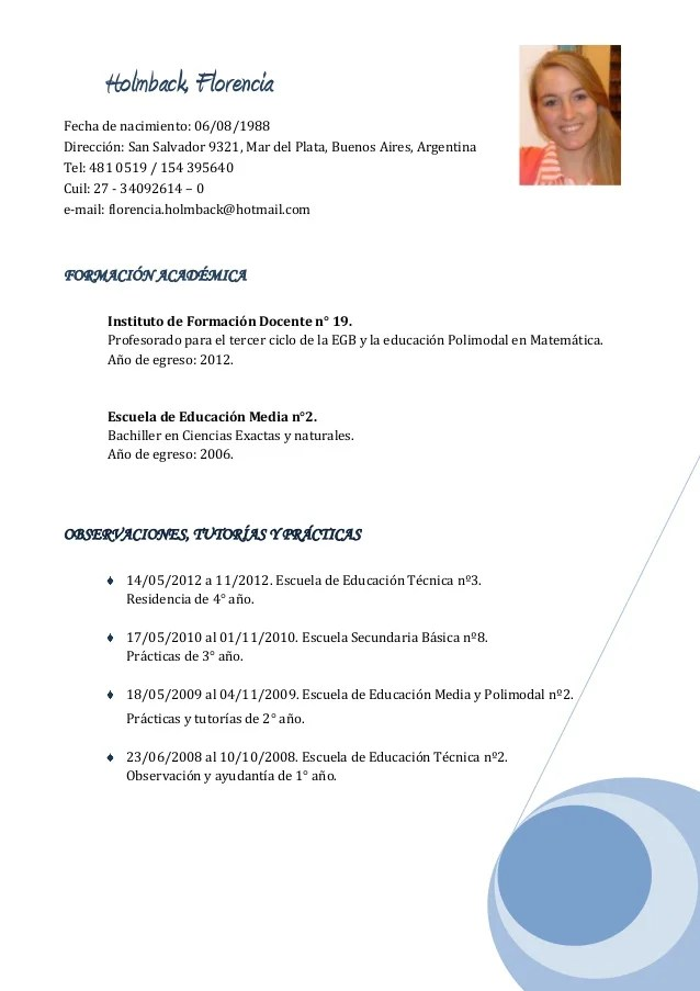 Curriculum Vitae Modelo El Salvador Free Document Resume Samples