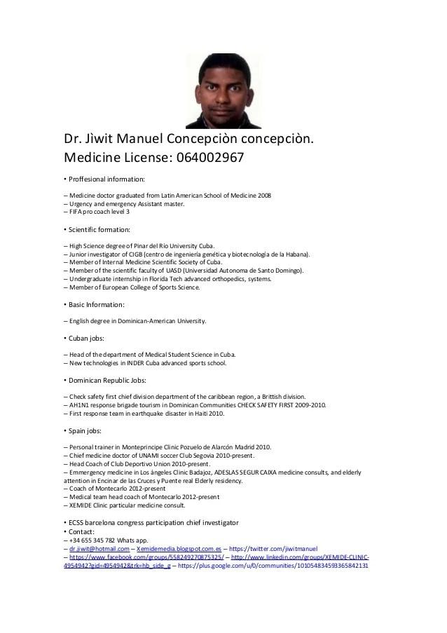 Curriculum Vitae English Version Doc Management Consulting Resumes