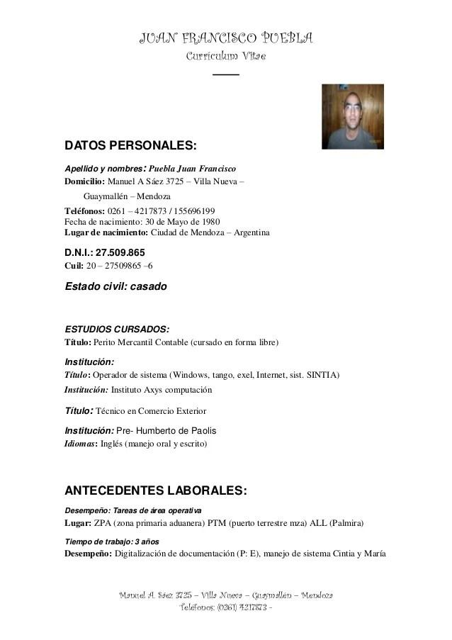 Curriculum Vitae Juan Ok