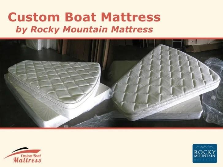 Custom Boat Mattress Information