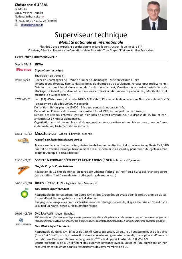 Exemple De Cv En Anglais Controleur De Gestion Sample Resume