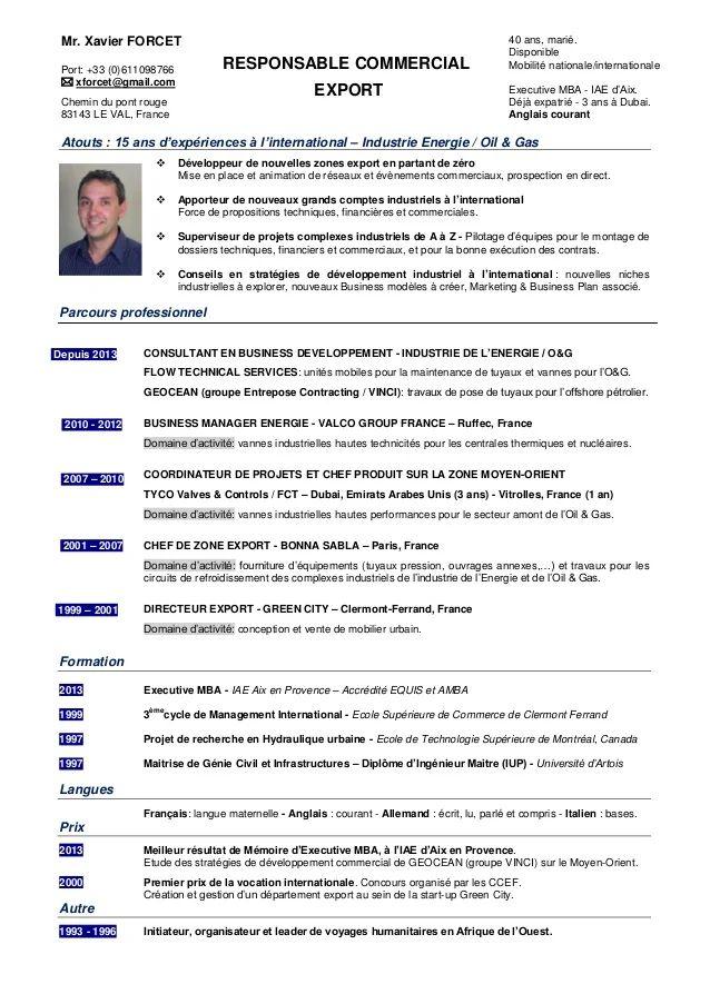 cv chef de projet telecom pdf