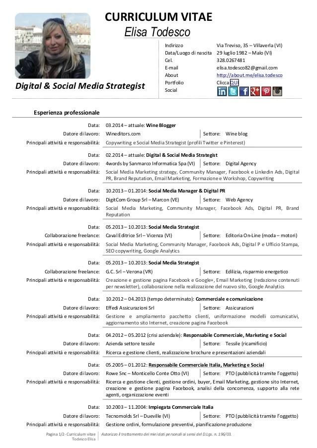 MY CV DIGITAL & SOCIAL MEDIA STRATEGIST