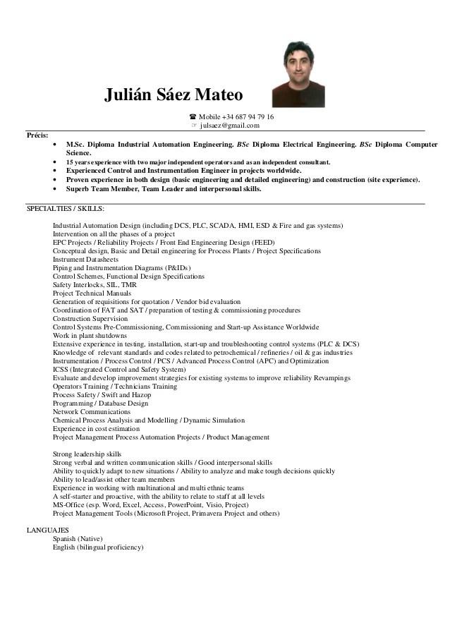 Cv Julian Saez