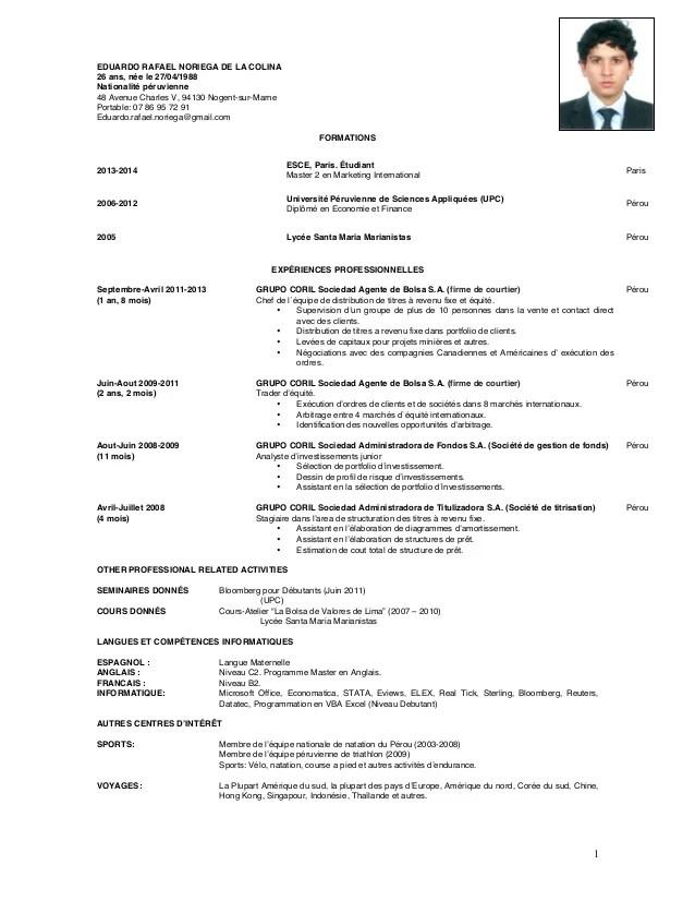 Resume Francais Kalde Bwong Co
