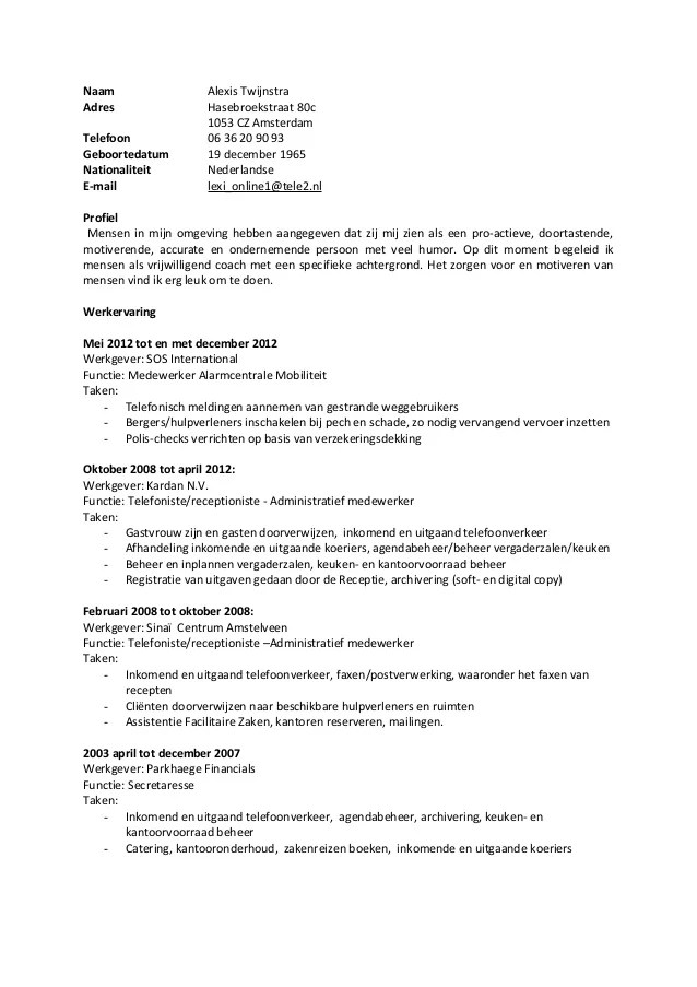 Cover Letter Show Me Examples Of Resumes