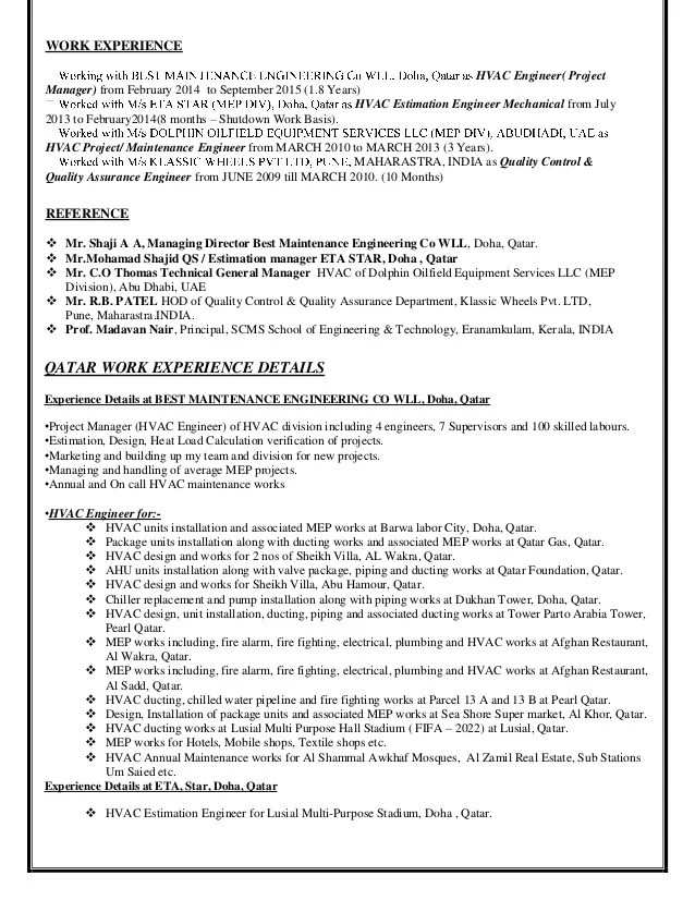 Hvac Project Engineer Cover Letter - Cover Letter Resume ...