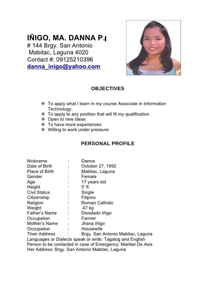 Dana Resume1