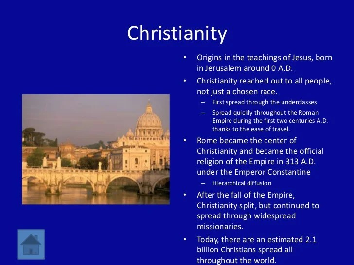 christianity ppt