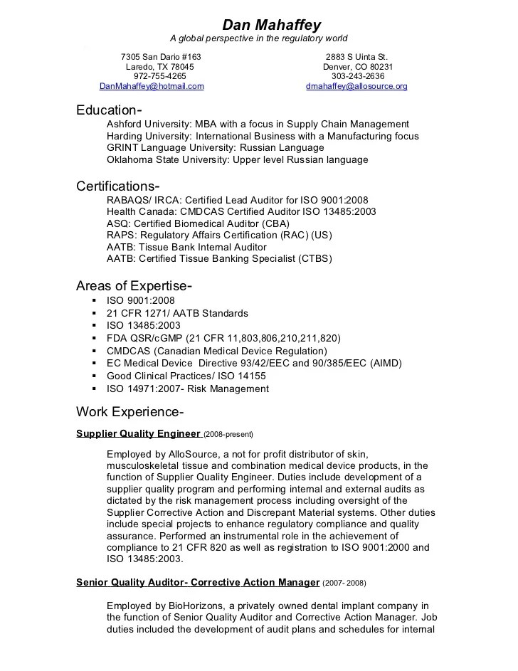cover letter quality engineer - Neyar ...