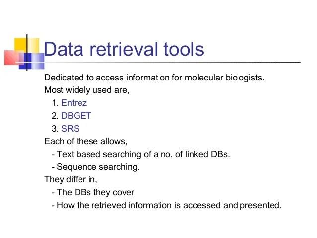 also data retrieval rh slideshare