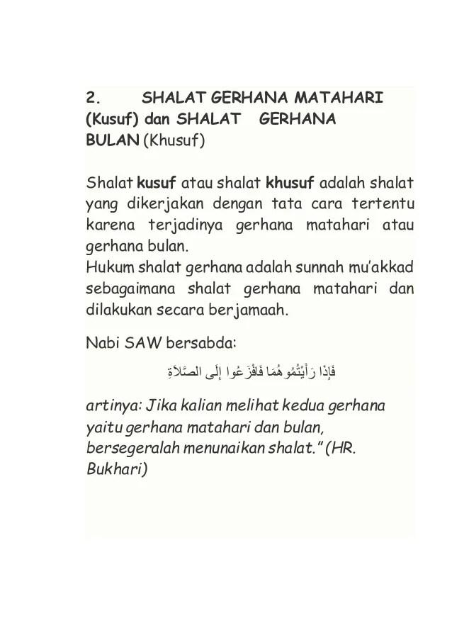 Niat Sholat Sunnah Gerhana Matahari : sholat, sunnah, gerhana, matahari, Shalat, Sunnah, Gerhana, Matahari