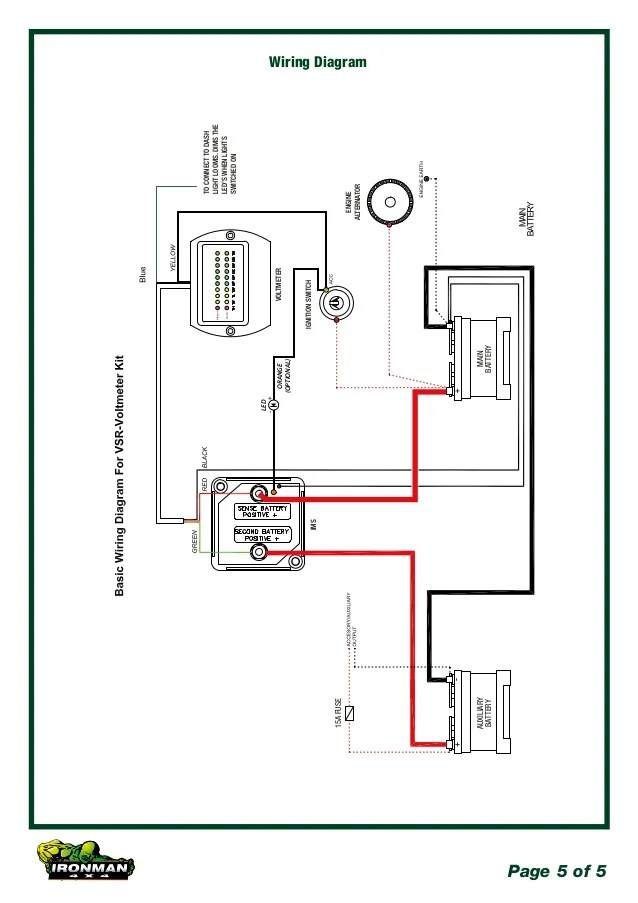 ironman winch wiring diagram 24 volt for trolling motor batts manual e books 4x4 140amp dual battery kit 12 volt5 page 5 of