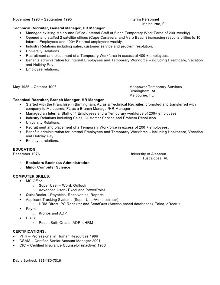resume writer jobs melbourne