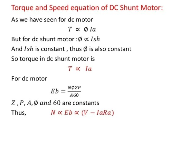 Sd control dc shunt motor theory impremedia dc motor sciox Images