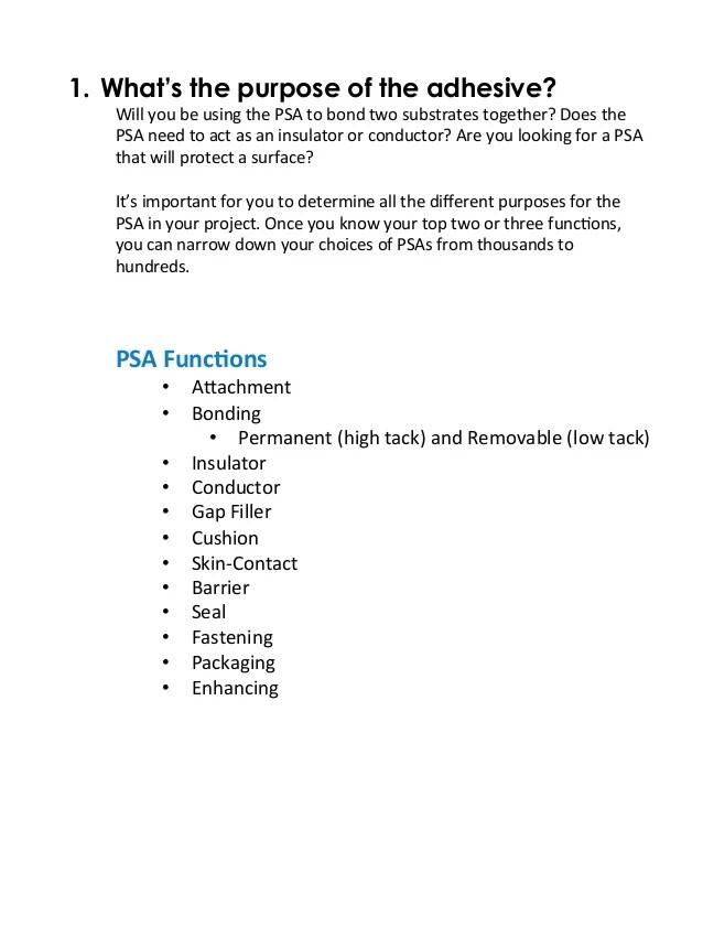 4 Questions When Choosing a PSA