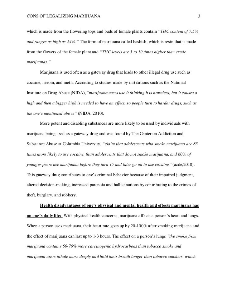 Marijuana Essays Legalization Of Marijuana Argumentative Essay
