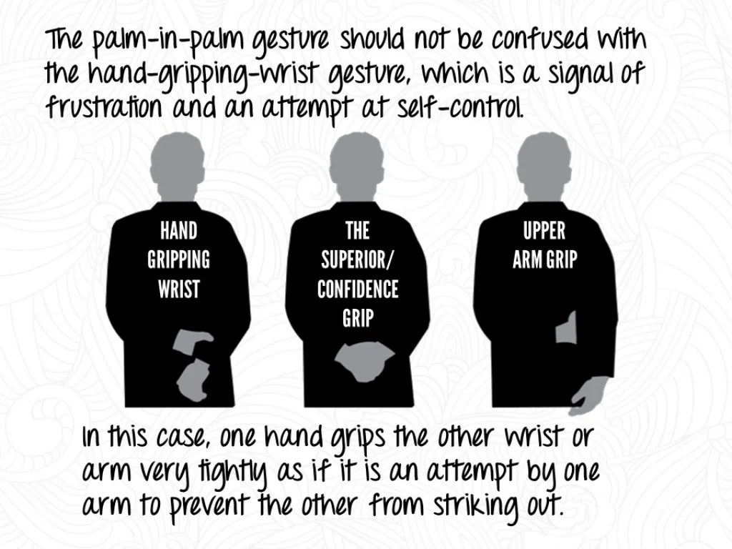 The Palm In Palm Gesture Should Not