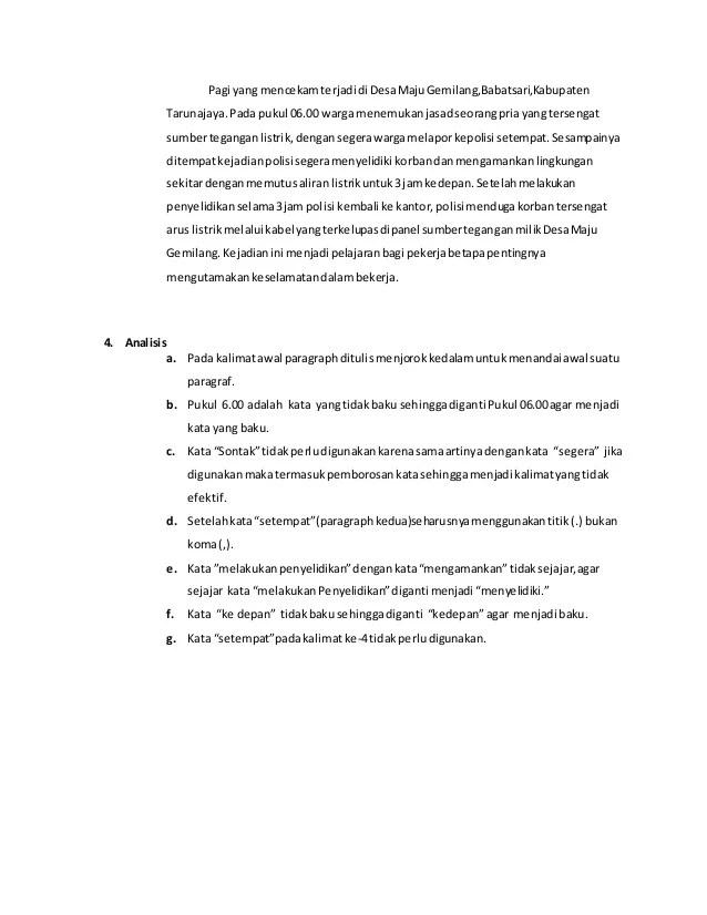 Contoh Paragraf Paralelisme : contoh, paragraf, paralelisme, Contoh, Tugas, Memperbaiki, Paragraf