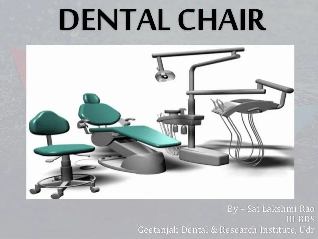 portable dental chair philippines outdoor set by sai lakshmi rao iii bds geetanjali research institute