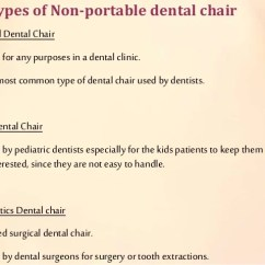 Portable Dental Chair Philippines Klismos Dining 18 Types Of Non
