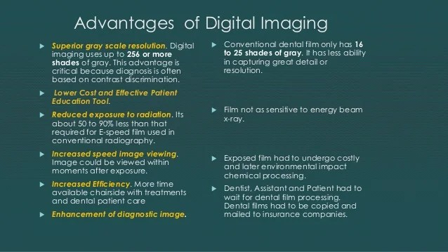 Dental Digital Radiography In Easy To Understand Steps